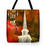 The King Of Majesty Tote Bag