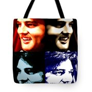 The King Of Rock And Roll Tote Bag
