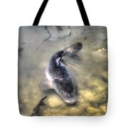 The King Of The Pond Tote Bag