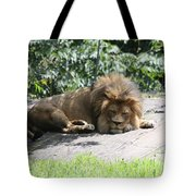 The King On His Day Off Tote Bag