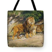 The King Watches Tote Bag