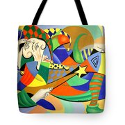 The Kings Jester Tote Bag