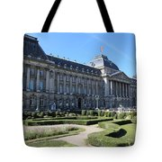 The King's Palace In Brussels Tote Bag