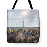 The Kiss And The Coasters Tote Bag