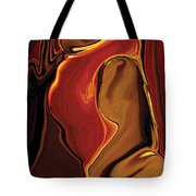 The Kiss In Red Tote Bag