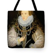 The Kitchener Portrait Of Queen Tote Bag