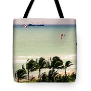 The Kite Surfers Tote Bag