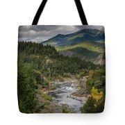 The Klamath Runs Through It Tote Bag