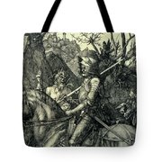 The Knight, Death And The Devil Tote Bag