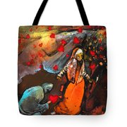 The Knight Of Your Heart Tote Bag
