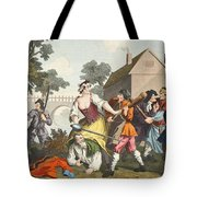 The Knight Submits To Trulla Tote Bag