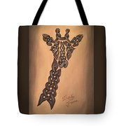 The Knotty Giraffe Tote Bag
