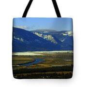 The Kootanie River In Bonners Ferry Idaho Tote Bag