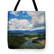 The Kootenai River Tote Bag