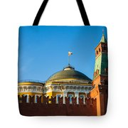 The Kremlin Senate Building Tote Bag