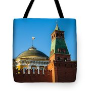 The Kremlin Senate Building - Square Tote Bag