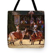 The Lady And The Knight Tote Bag