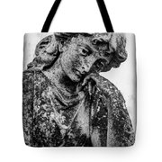 The Lady In Mourning 03 Bw Tote Bag