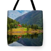 The Lake House Norway Tote Bag