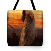 The Lament Of Jephthahs Daughter Tote Bag