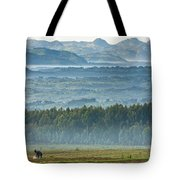 The Land Of A Thousand Hills Tote Bag