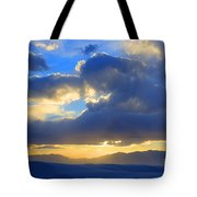 The Land Of Enchantment Tote Bag by Bob Christopher