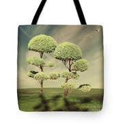 The Land Of The Lollipop Trees Tote Bag
