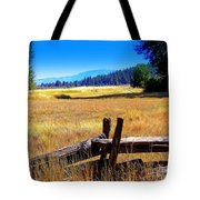The Land With A View Tote Bag