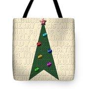 The Language Of Christmas Tote Bag