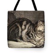 The Large Cat  Tote Bag