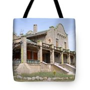 The Las Vegas And Tonopah Railroad Depot Tote Bag