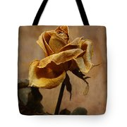 The Last Autumn Rose Before The First Snow Tote Bag