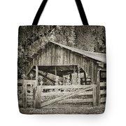 The Last Barn Tote Bag