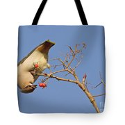 The Last Berries Are For Me Tote Bag