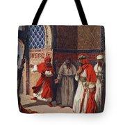The Last Council Of Boabdil Tote Bag