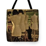 The Last Fashion Show- Old Mannequins Tote Bag