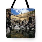 The Last Inca Rope Bridge Tote Bag