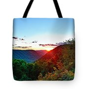 The Last Rays Tote Bag