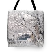 The Last Snow Storm Tote Bag