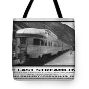 The Last Streamliner Poster Tote Bag