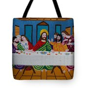 The Last Supper Hand Embroidery Tote Bag by To-Tam Gerwe