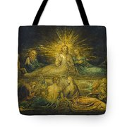The Last Supper Tote Bag by William Blake