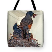 The Last Worm Tote Bag