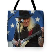 The Late Great Johnny Winter Tote Bag