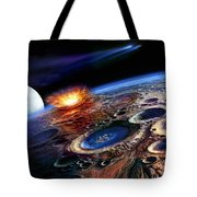 The Late Heavy Bombardment Tote Bag