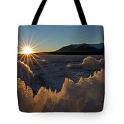 The Late Season Suns Skims Tote Bag