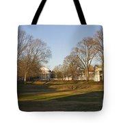 The Lawn University Of Virginia Tote Bag