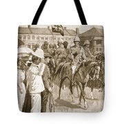 The Leader Of The Allies, Illustration Tote Bag