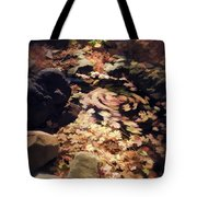 The Leaf Swirl  Tote Bag