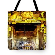 The Leather Shop Fireplace Tote Bag